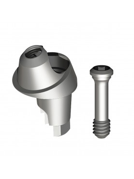 Multi-unit angled abutment