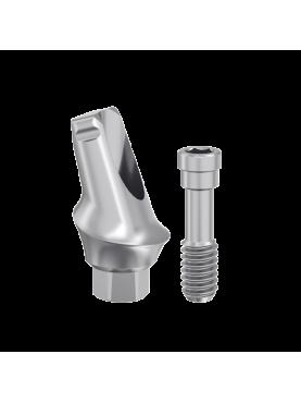 17° angled titanium abutment