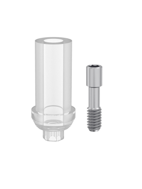 Castable abutment